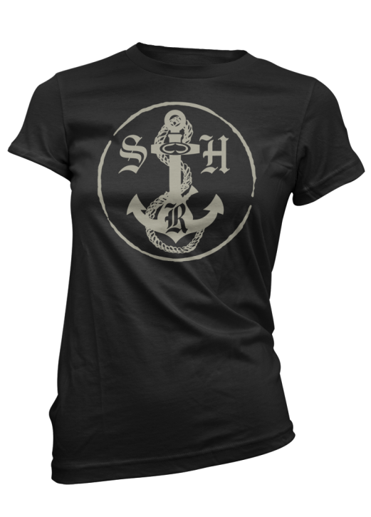 SRH - ANCHORS TEE BLACK
