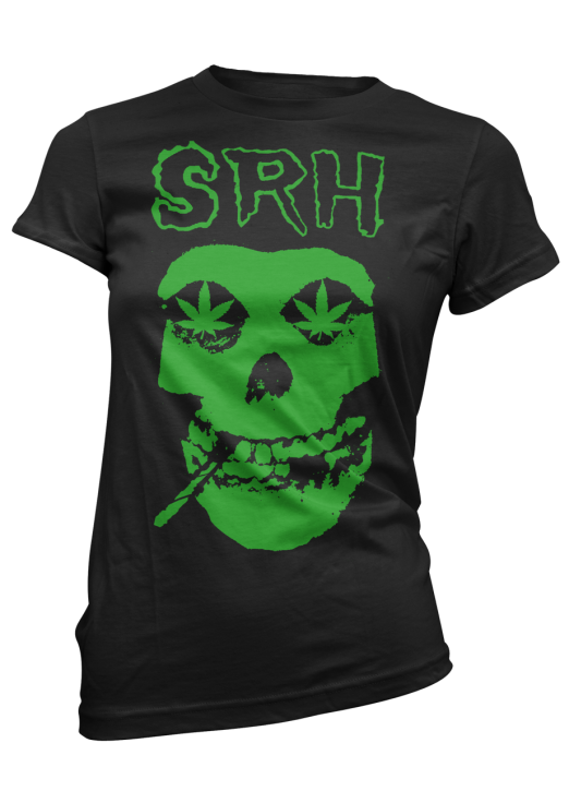 SRH - LATEST FLAME TEE BLACK