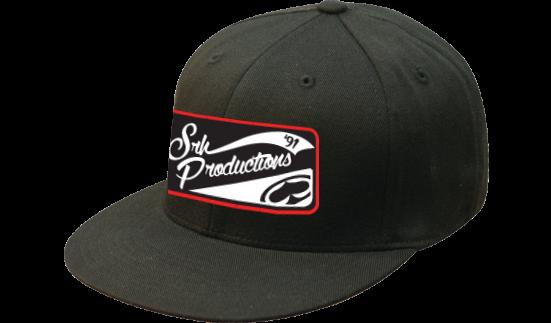 SRH - PRODUCTION PATCH FLATBILL FLEXFIT HAT BLACK