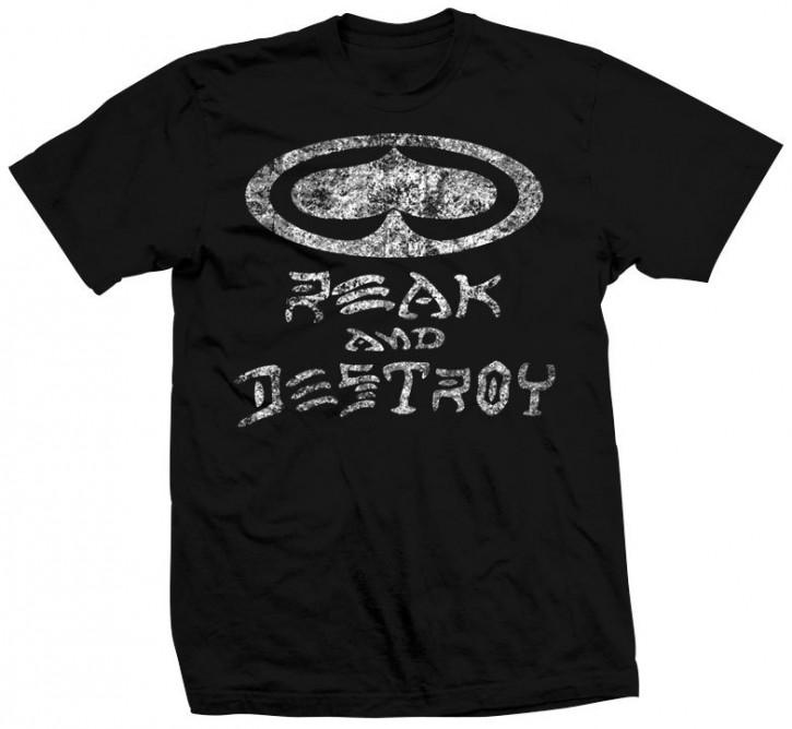 SRH - REAK & DESTROY TEE BLACK