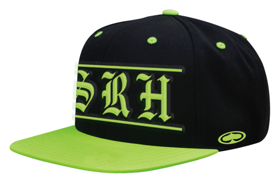 SRH - SUPPLIER CO SNAPBACK HAT BLACK/GREEN ONE SIZE