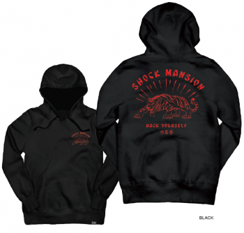 SHOCK MANSION - BACK YOURSELF HOODIE BLACK