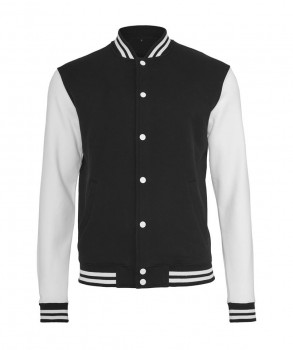 SICKRET - SKULL NEW MEN COLLEGE JACKET BLACK