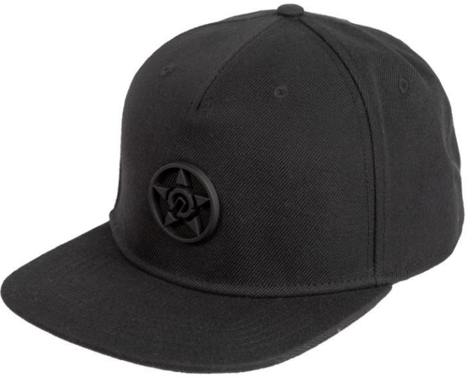 UNIT - CHRONIC SNAPBACK CAP BLACK ONE SIZE