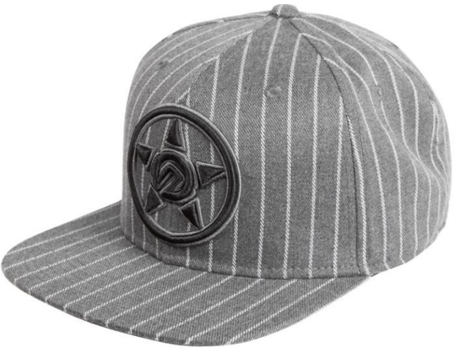 UNIT - FORCE SNAPBACK CAP GREY