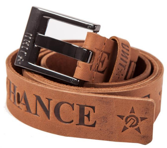 UNIT - STAKES BELT CHOCOLATE L/X