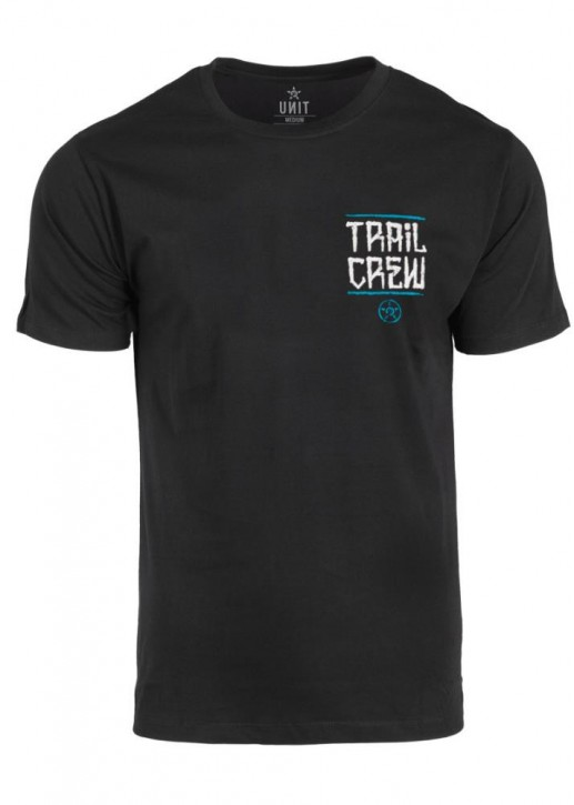 UNIT - TRAIL CREW TEE BLACK L
