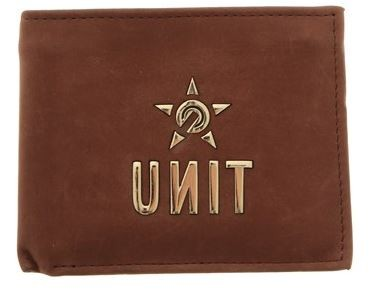 UNIT - BULLION WALLET CHOCOLATE ONE SIZE