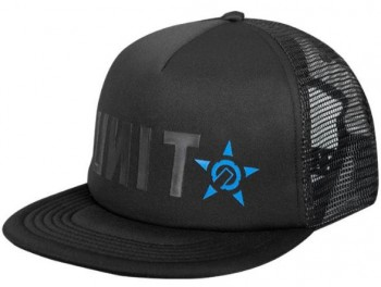 UNIT - KINETIC TRUCKER CAP BLACK ONE SIZE