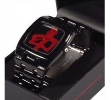 RED DRAGON - THE CONTINUUM WATCH BLACK ONE SIZE