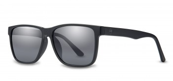 FILTRATE - HOTEL MATTE BLACK/GREY LENS POLARIZED