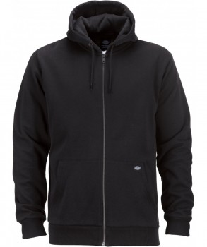 DICKIES - KINGSLEY ZIP HOODY BLACK