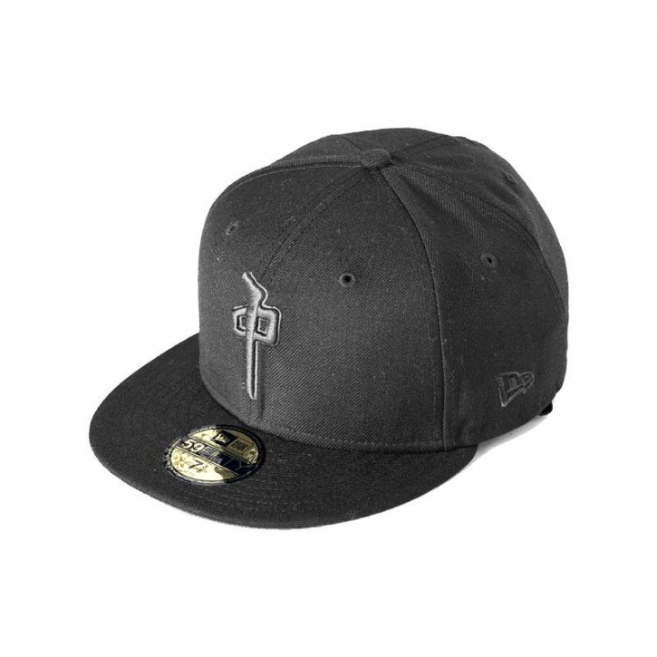 RED DRAGON - NEW ERA HAT DYNASTY BLACK/BLACK
