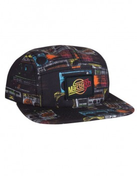 MACBETH - STROKES BOOMBOX 5 PANEL COTTON TWILL  ONE SIZE