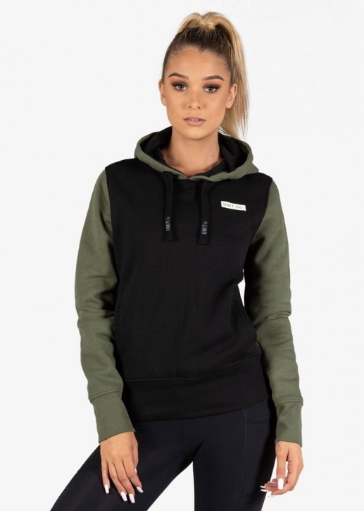 UNIT - NOVEL LADIES HOODIE MILITARY