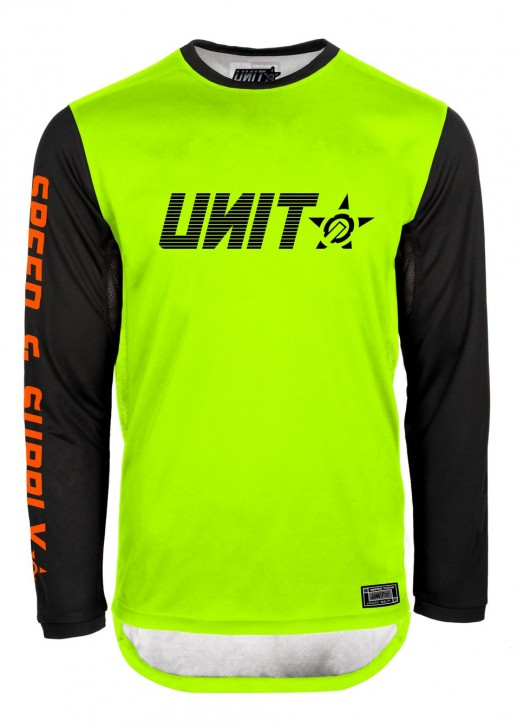 UNIT - FUSION MX JERSEY YELLOW