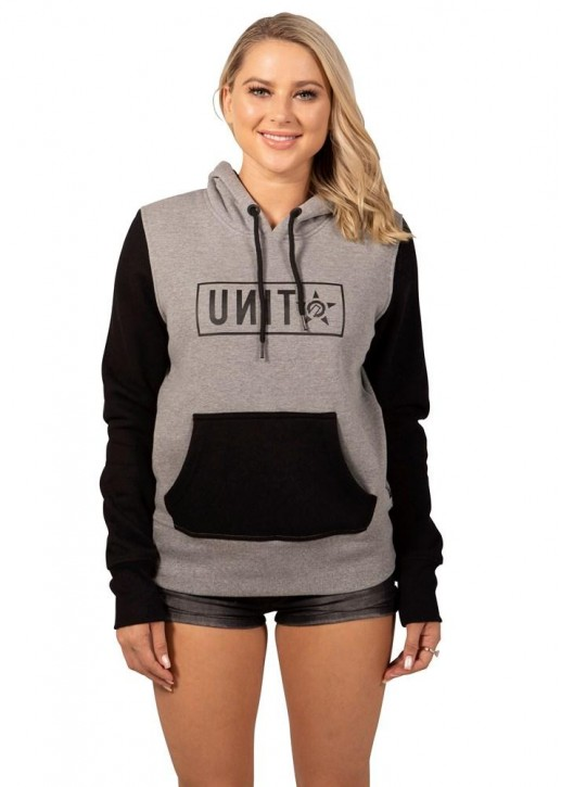 UNIT - RECKLESS LADIES HOODIE GREY