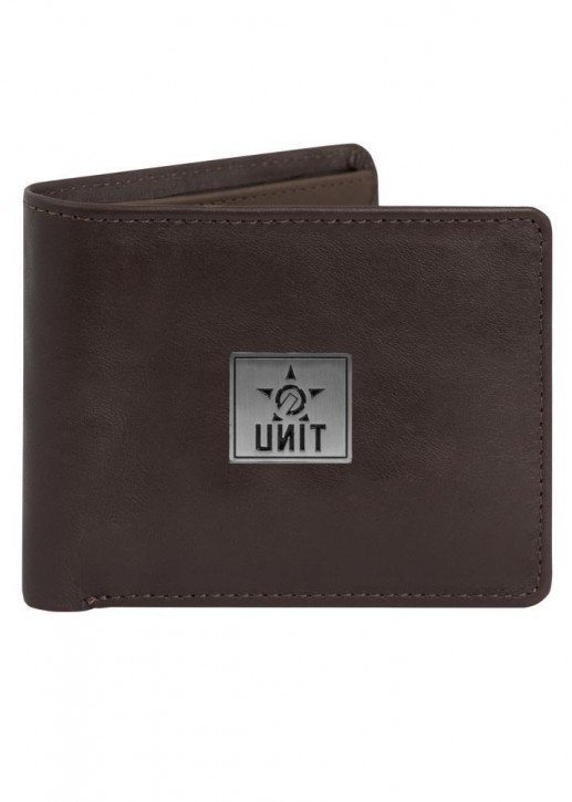 UNIT - EXCILE LEATHER WALLET BROWN