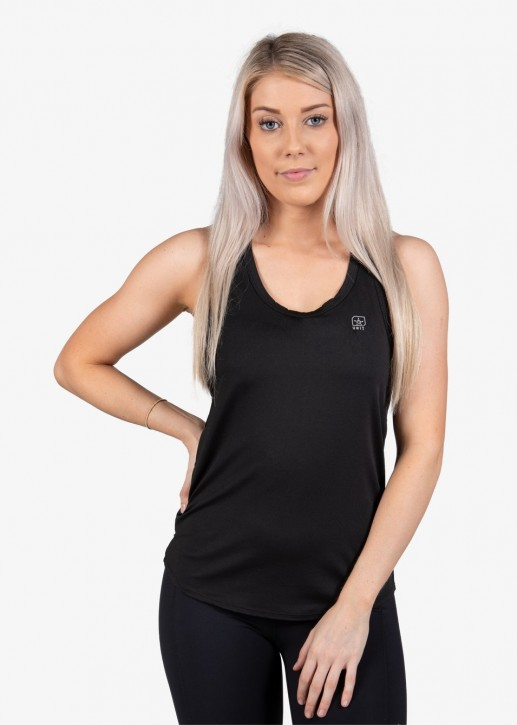 UNIT - PRO FLEX LADIES SINGLET BLACK
