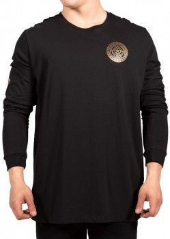 UNIT - KINGPIN L/S TEE BLACK