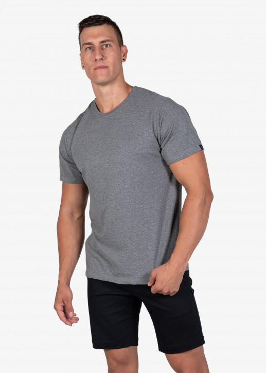 UNIT - ESSENTIAL TEE GRAY MARL