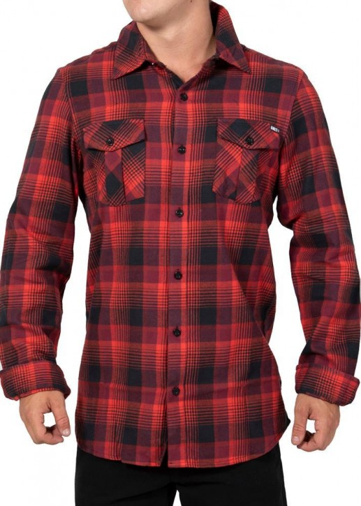 UNIT - STANFORD FLANNEL RED