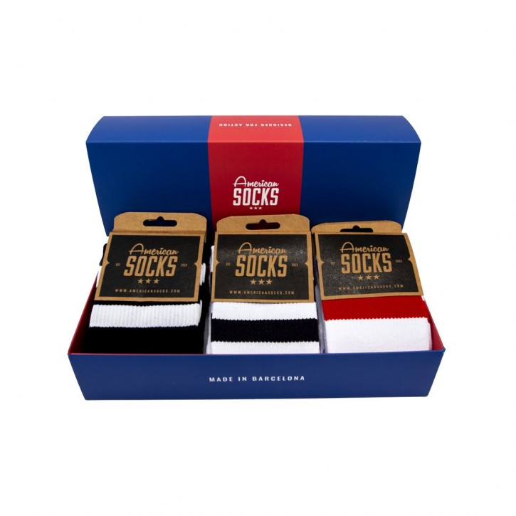 AMERICAN SOCKS - THE MID HIGH CLASSICS GIFTBOX