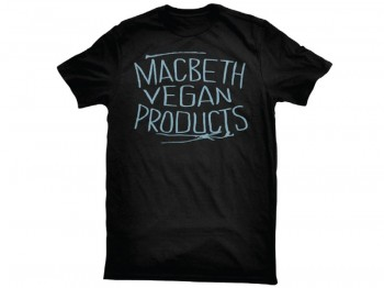 MACBETH - VEGAN PRODUCTS TEE BLACK