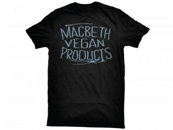 MACBETH - VEGAN PRODUCTS TEE BLACK S