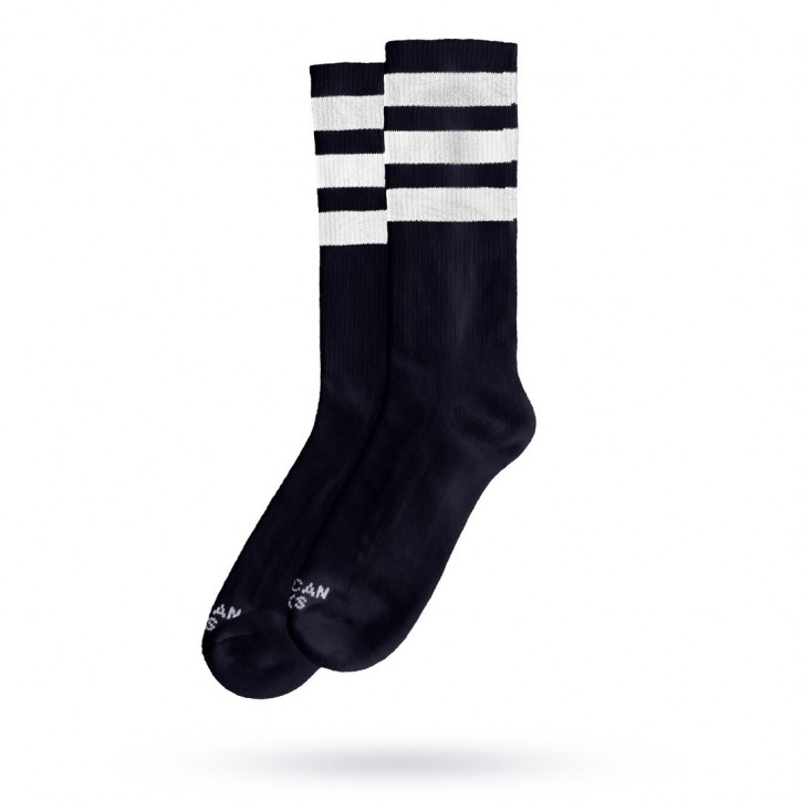 AMERICAN SOCKS - BACK IN BLACK II MID HIGH