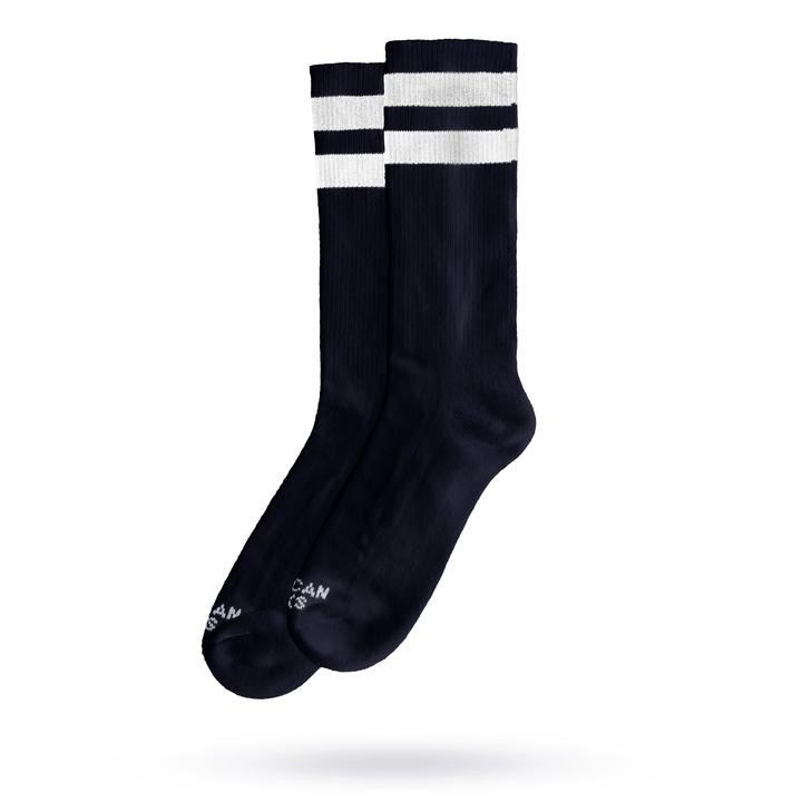 AMERICAN SOCKS - BACK IN BLACK I MID HIGH