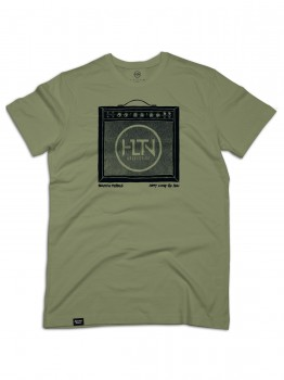 HLTN - STONES TEE MILITARY GREEN