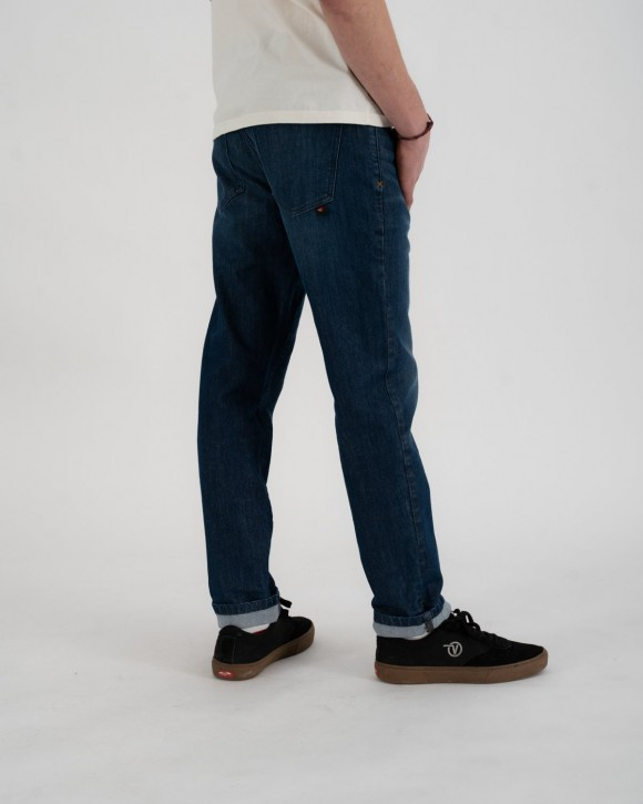RIDING CULTURE - TAPERED SLIM MEN BLUE LT