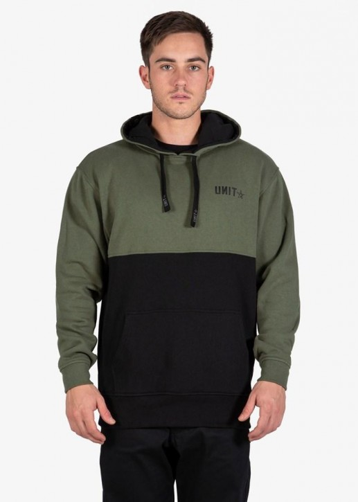 UNIT - LOCKDOWN HOODIE MILITARY