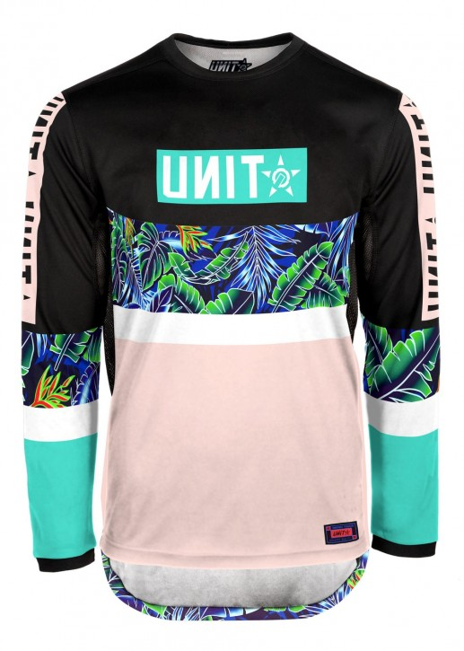 UNIT - LAZE MX JERSEY MULTI L