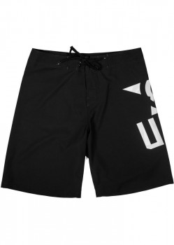 UNIT - PAYOFF BOARDSHORTS BLACK