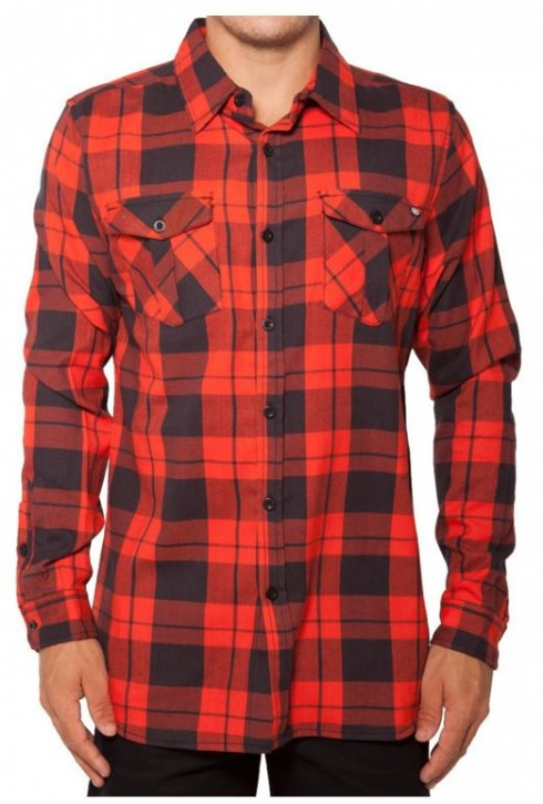 UNIT - BLOOM FLANNEL RED XL