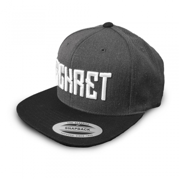 SICKRET - SNAPBACK GREY/WHITE ONE SIZE