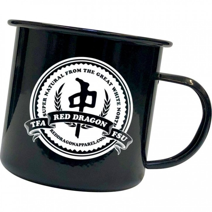 RDS - CAMPING MUG SUPER NATURAL BLACK ONE SIZE