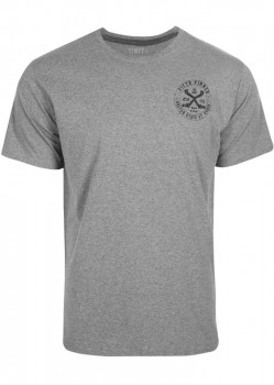 UNIT - PINNED TEE GREY MARLE