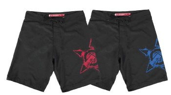 UNIT - VENOM BOARDSHORT RED
