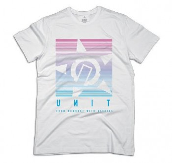 UNIT - PARALLEL TEE WHITE