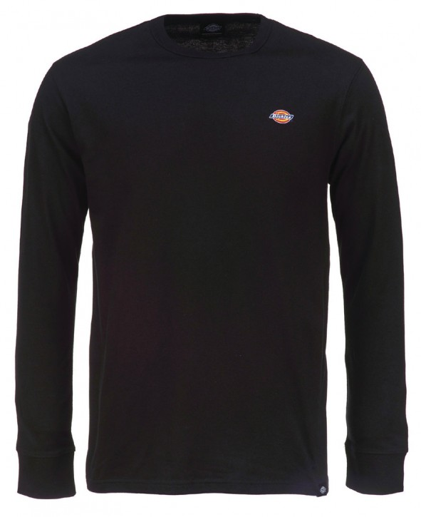 DICKIES - ROUND ROCK SLIM FIT LONG SLEEVE SHIRT BLACK