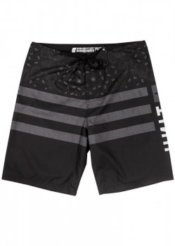 UNIT - BOUNTY HUNTER BOARDSHORT BLACK