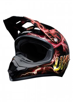 UNIT - X2.6 VOLT MX HELMET ORANGE