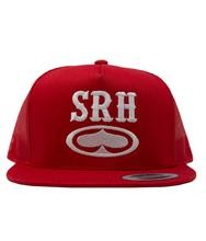 SRH - ROCKER TRUCKER HAT RED