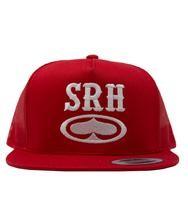 SRH - ROCKER TRUCKER HAT RED