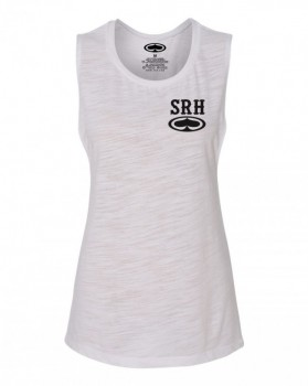 SRH - ROCKER GIRLS SLUB TANK WHITE