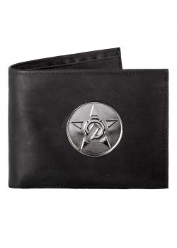 UNIT - CONTURE LEATHER WALLET BLACK