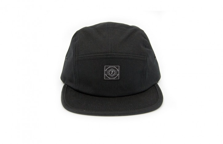 HÄ - THE 5 PANEL CAP SCHWARZ